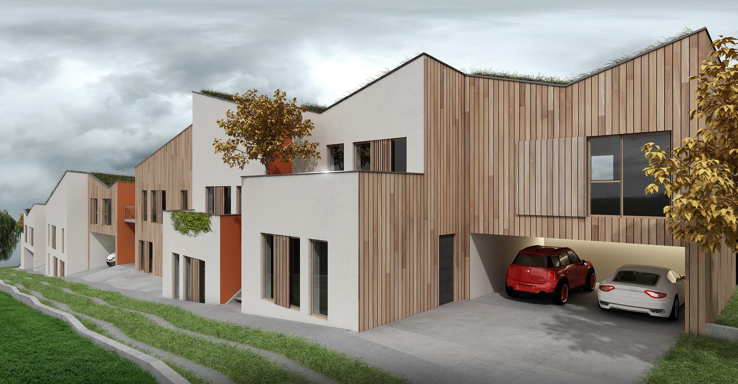 Construction neuve : 10 logements type F3-F4-F5 La Ferte Alais (91)