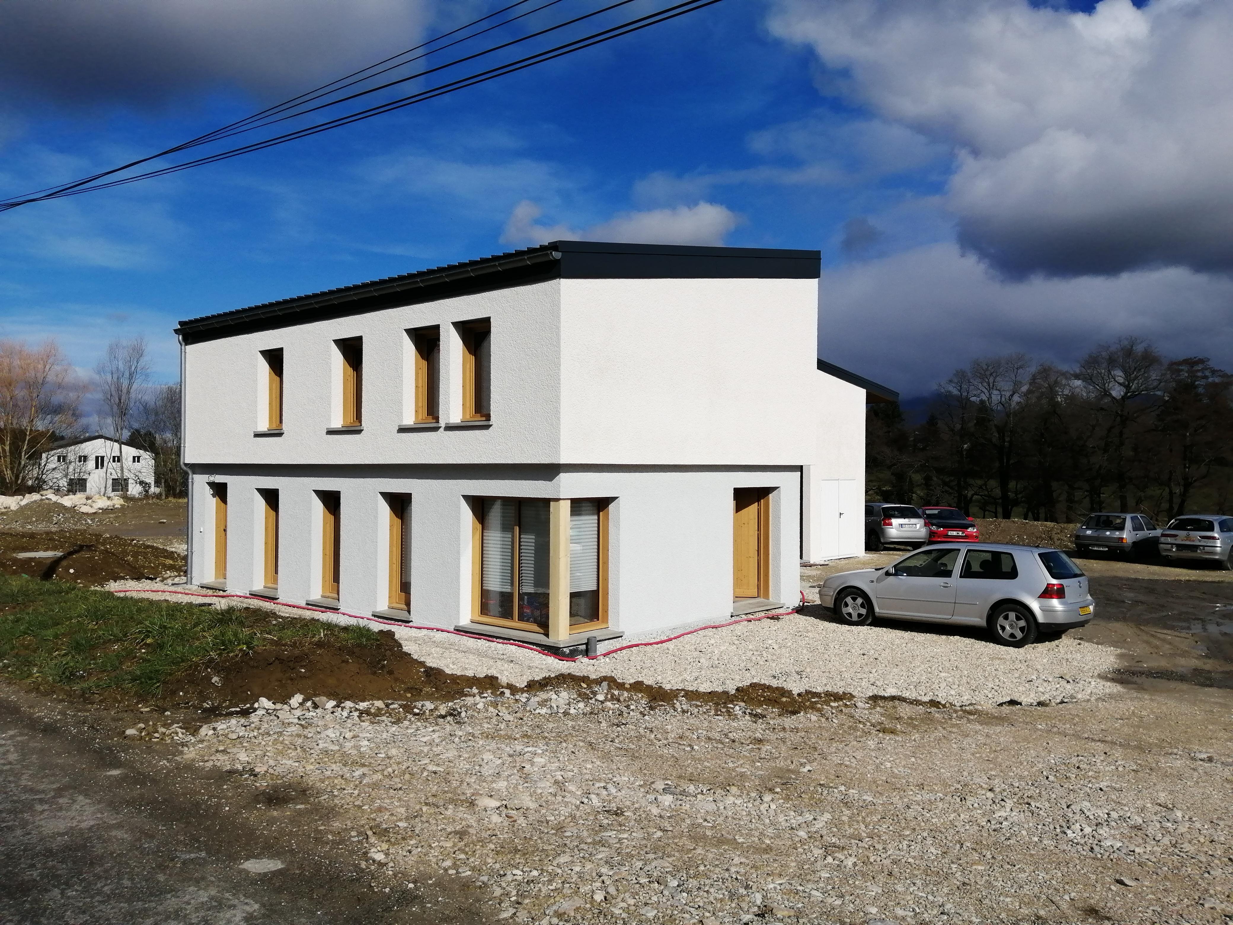 Chantier 2019: Construction neuve d'un local artisanal et d'un bâtiment de bureaux